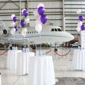 7. US Global Airways at the Hangar Event