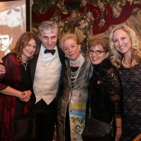 14. VHLF Pavla Niklova, Joseph Balaz, Wendy Luers, Lise Stone, and Michaela Boruta, Gala Dinner production team, Washington, DC, November 2014